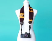 Harry Potter Gryffindor House Scarf Camera Strap with Quick Release Buckles -- 1.5- 2 inches wide