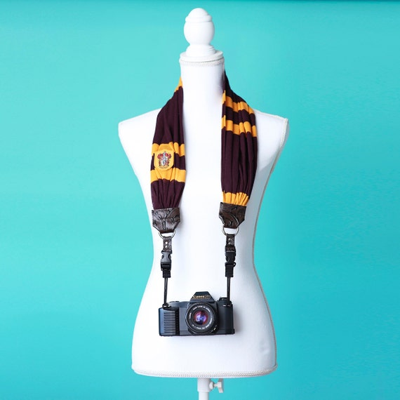 Hogwarts House Camera Strap | Harry Poter Gift Guide