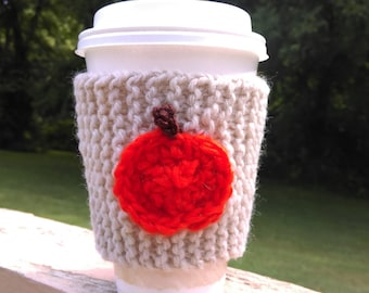 Pumpkin Coffee Cup Sleeve