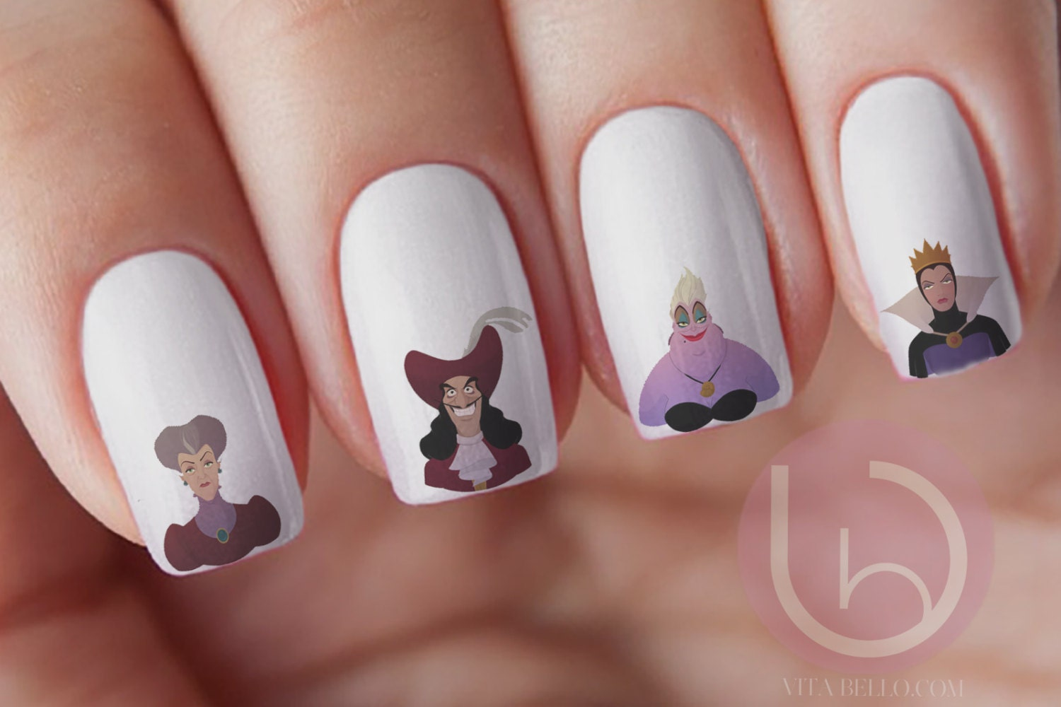 Nail Art Ideas » Disney Nail Art Stickers - Pictures of Nail Art ...
