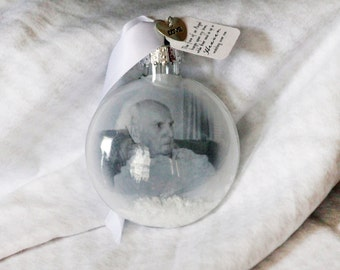 In Loving Memory Christmas Ornament Lost Loved One Christmas Keepsake Ornament Lost loved one First Christmas in Heaven Photo ornament