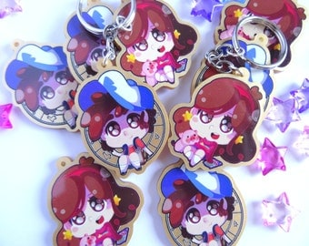 Dipper and Mabel Key chains
