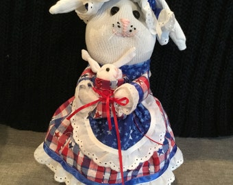 Personally Handmade Sock Bunnies.