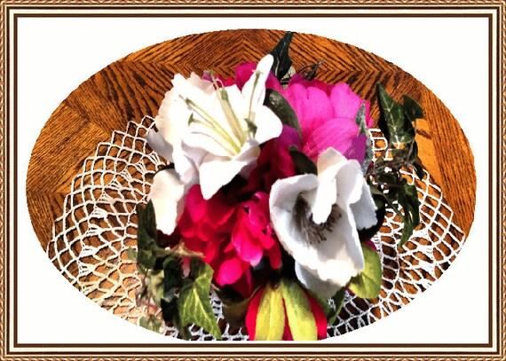 Mini Moments Ruby Posie Floral Arrangement