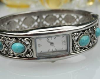 Vintage Clamp Watch Bracelet