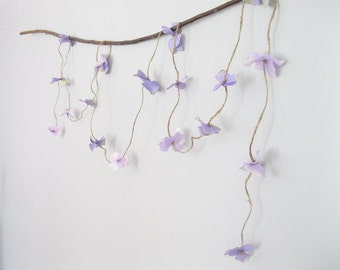 Boho Flower Garland | Beach Wedding Garland | Hydrangea Flower Garland | Wedding Flower Garland | Rustic Wedding Garland | Floral Garland