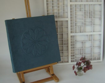 Photo album/wedding album large with handmade cover-photo album-wedding album