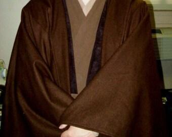 Jedi Cloak Robe Star Wars Wool