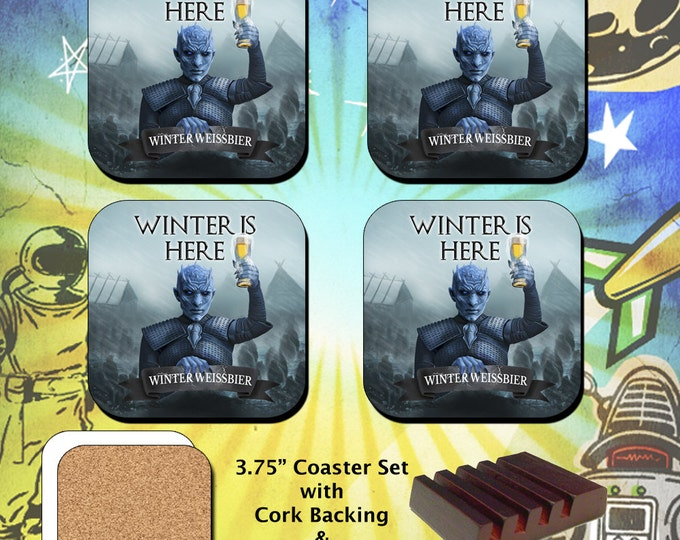 Game of Thrones / Night King / Coaster Set