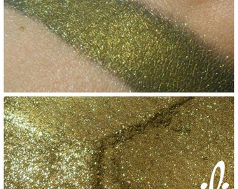 Gilded Ebony - Metallic Black Mineral Pigment - Eyeshadow - ili