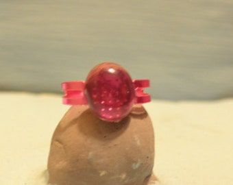 Pink Jewel Ring