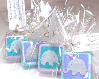 Baby Shower Favors - Elephant Shower Favors - Baby Shower Favors Elephants Girl