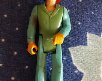 Fisher Price Action Figure Doll The Adventure People Rescue Team Mike EMT Fireman Firefighter Medical #350 FS