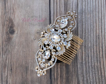 FAST SHIPPING!! Bridal Hair Comb, Wedding Hair Comb, Crystal Hair Comb, Swarovski Hair Comb, Headpiece, Crystal Headpiece, Bridal Headpiece,