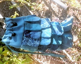 Fish Drawstring Crossover Bag
