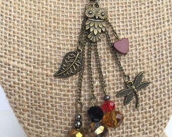 Owl Dangle Necklace