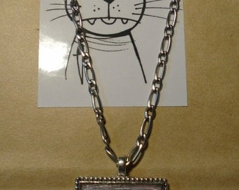 Necklace:  Ding Dong the cat