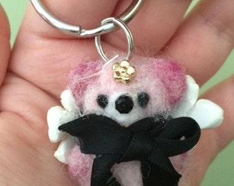 Angel Bear Keychain Buddy
