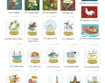 BULK SAVINGS! 35 Holiday Cards, save 40%