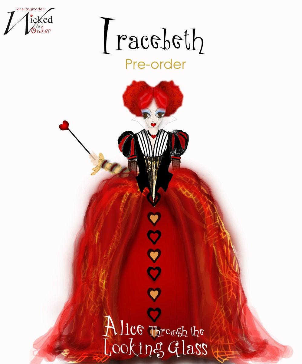 Red Queen From Alice Through The Looking Glass Adult