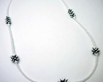 Spiky textured necklace, spiky Necklace, Festival necklace,Cyberpunk, cyberpunk necklace, spiky necklace,