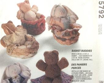 McCall's Crafts 5792 UNCUT Basket Buddies