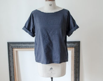 Organic Ethical Cotton Smock Tee Sustainable Fashion // available natural with no dye