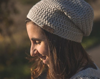 Womens slouchy beanie/Style slouchy/The Sara slouch hat