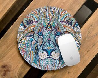 Office Decor Lion Office Decor Animal Office Desk Accessories Desk Decor Desk Accessories Office Mousepad Mouse Pad Cubicle Decor CMP_094