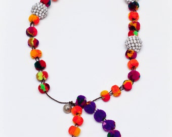 5. Pompom Necklace