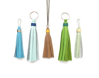 Add A Color Accent Ring To ANY Tassel | Leather Tassel Accent