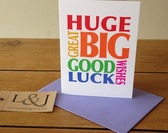 Good luck card, new job cards, driving test card, good luck, good luck cards, exams, driving test, good luck wishes, exams card, ballet exam