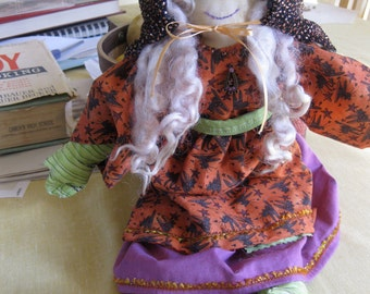kitchen witch - hand made doll  OOAK