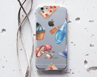 iPhone 7 Plus Case iPhone 6s Case for Samsung Galaxy S6 Case iPhone 8 Case Hipster Case for Samsung Note 5 Case Alice In Wonderland WC1094
