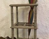 Vintage Umbrella Stand / Wooden Stand / Entryway Furniture / Rustic / Umbrellas / New Home