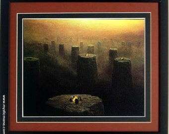 Framed Beksinski Art Poster Witches