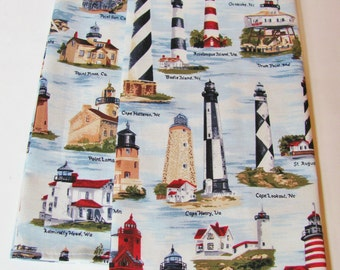 Lighthouses Kitchen Linens