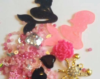 Mermaid Decoden / embellishment bundle