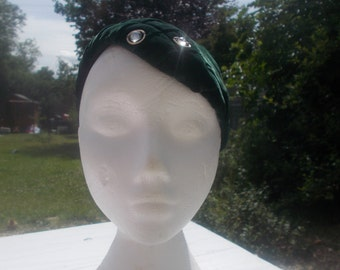 1940s green hat
