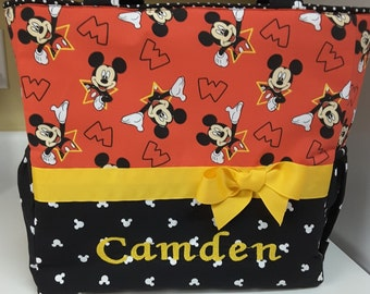 Mickey Mouse Personalized Diaper Bag