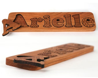 Cherry Solid wood puzzle