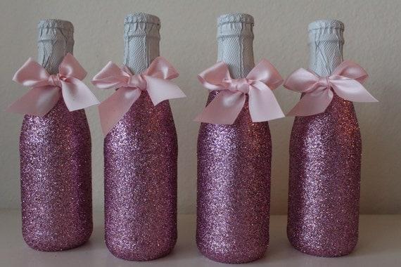 mini glittered apple cider bottles by fabdetailsevents on etsy. Black Bedroom Furniture Sets. Home Design Ideas
