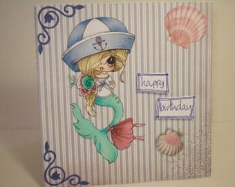 Girls birthday card/My Besties card