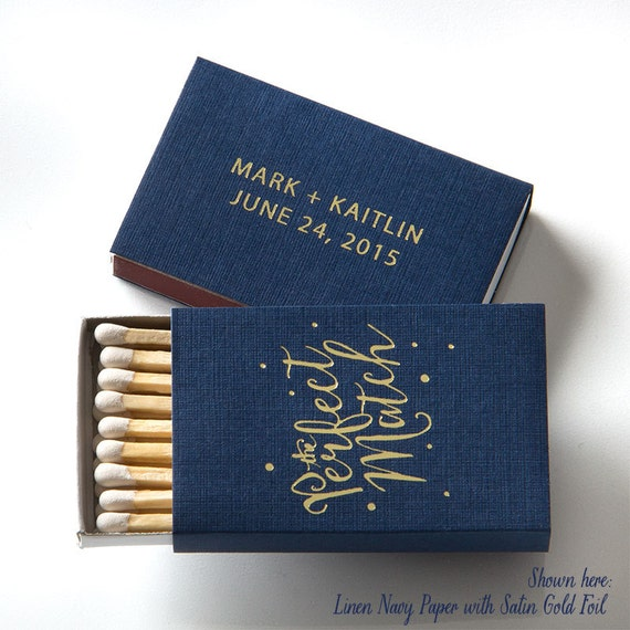 Match Boxes Wedding Favors Party Favors Custom Wedding Matches