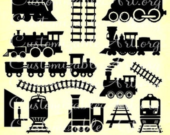 Train Clipart Digital Train Clipart Image Train ChoCho Train Clipart Printable Choo Choo Train Tracks Clipart Railroad Train Station Graphic