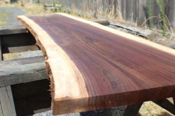 Black Walnut Live Edge Slab 96 Diy Hardwood Custom Project