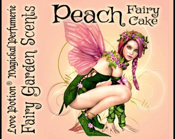 Fairy Cake: Peach - Sweet & Youthful Layerable Perfume - Love Potion Magickal Perfumerie