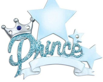 Prince- Personalized Ornament