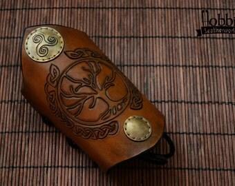 Celtic Bracelet / Celtic Tree Bracelet / Celtic Wristband / Celtic Cuff