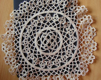 Set of three beautiful vintage doilies